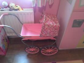 Baby Annabelle pram