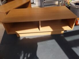 Argos Home Cubes Oak effect TV unit, coffee table and cabinet unit