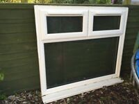 "Quality ""A"" rated window – frosted glass – from Penicuik"