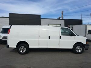 2017 GMC Savana G2500 ext. chrome FIN OR LEASE FROM 4.99%OAC