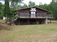 Two-storey club house in 25 acre forest Ottawa Valley