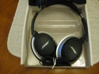 Bose AE2 on ear headphones, as new condition.