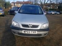 2003 quick sale Vauxhall Zafira Elegance automatic diesel