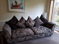 4 SEATER SOFAS - GREAT CONDITION - £250