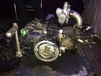 Pit bike lifian engine 125 with carb non runner