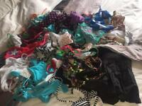 Job lot of bikinis BNWT and used mostly Tesco and Dorothy Perkins various sizes 14 16 18