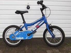 Ridgeback MX14 kids bike. Excellent condition. Used by 1 child. Can deliver local to Crawley area.