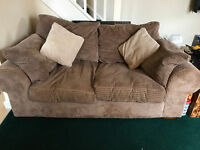 2 Seater Sofa with 2 cushions
