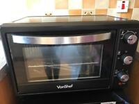 Von shef table top oven