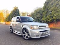 2006 55 PLATE RANGE ROVER SPORT KAHN PROJECT BLACK LABEL NO 266 FULLY LOADED PX ***MUST SEE***