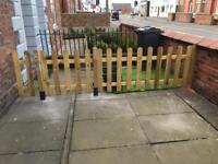 3ft X 6ft picket fence