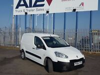 2014- 64 plate peugeot partner se 1.6 hdi 3 seat side door super low miles light use plus vat