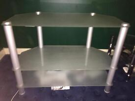 Frosted glass tv unit (large)