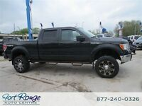 2012 Ford F-150 XLT SUPER CREW 4X4 - LIFTED/WHEELS