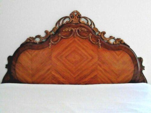 1930 Bassett Co. - Art Deco Full Bed Frame - Headboard, Footboard & Side rails.