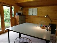 Desk Space to Rent in Modern Home Office