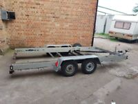 Car / Bike Transporter Recovery Trailer available for HIRE in DERBY