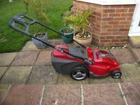 Mountfield Princess 38Li Freedom 48 Electric 4 Wheel Rear Roller Lawn Mower