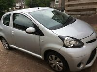 TOYOTA AYGO Ice, Silver, 62 Plates, 30000 mileages only