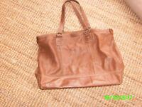 Leather bag/ tote bag