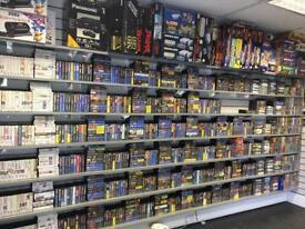 Large selection of retro games - Nintendo / Sega