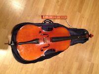 1/4 size Stentor Cello