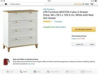 Bedroom drawers, brand new