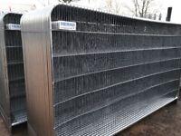 Roundtop heras fencing panels, temporary fencing