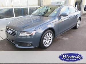 2010 Audi A4 2.0T Premium AWD, LEATHER, NO ACCIDENTS