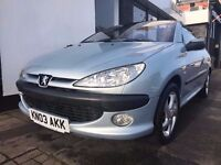 Peugeot 206 CC 1.6 S 2dr ONLY 66765 GENUINE MILES