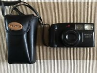 Pentax Zoom 90 camera with leather Pentax case