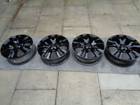 4 VAUXHALL 19 inch x 7J Newly Refurbished Alloy Wheels PCD 5 x 115