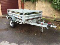Daxara 198F Braked trailer