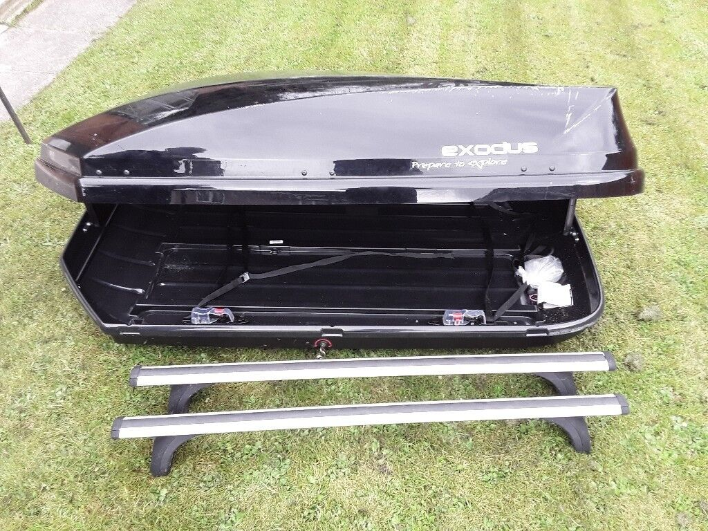 Exodus Roof Bars >> Exodus car roof box with roof bars | in Fishponds, Bristol | Gumtree