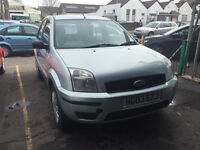 Ford Fusion 1.4 Diesel Manual 5 Door Hatchback Silver CHEAP ROAD TAX