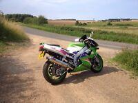 2003 Kawasaki ZXR 400 L9 Ninja - 10,850 miles + Extras - Ready to ride away