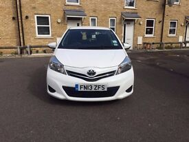Toyota Yaris 1.4 D-4D TR 5dr. LADY OWNER ONLY 37000 MILES. FIRST TO SEE WILL BUY