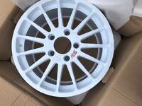 4x OZ RS racing alloy wheels