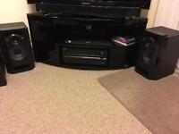 Onkyo txnr509 3D internet capable receiver and Panasonic loud speakers