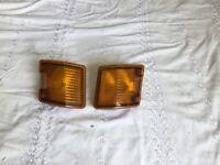 Vw t25 pair of indicators lenses front