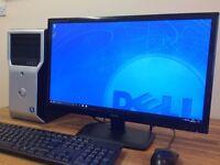 "GAMING PC Dell T1600 Core i5 - 8GB Ram - 1TB HDD - Nvidia Graphics + 23"" FULL HD Monitor Desktop"