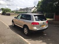 VW TOUAREG 3.0 TDI SE AUTO FULL SERVICE HISTORY HPI CLEAR, PX WELCOME