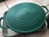 Le Creuset vintage pan set