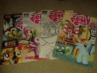 my little pony toys, comics, and collectible card game