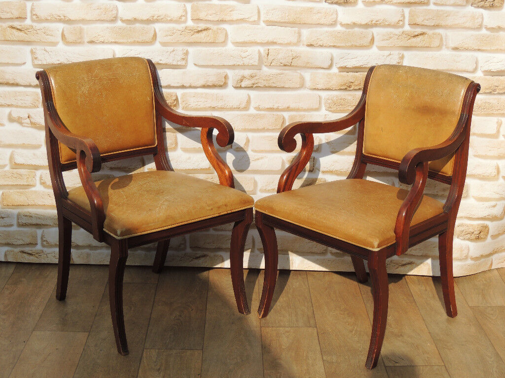 Pair of Antique chairs (Delivery)
