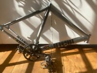 Cinelli Mash Frame, Omnium cranks + BB, MKS pedals 250