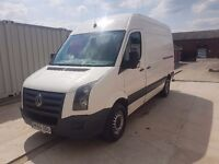VOLKSWAGEN CRAFTER CR35 MWB 60REG, 136BHP FOR SALE
