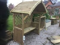 Rowlinson Party / BBQ Arbour, new, Flatpack.