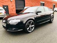 MARCH 2007 AUDI A4 S LINE SPECIAL EDITION 170BHP FULL SERVICE HISTORY TWO OWNERS