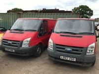 Ford transits choice of 2